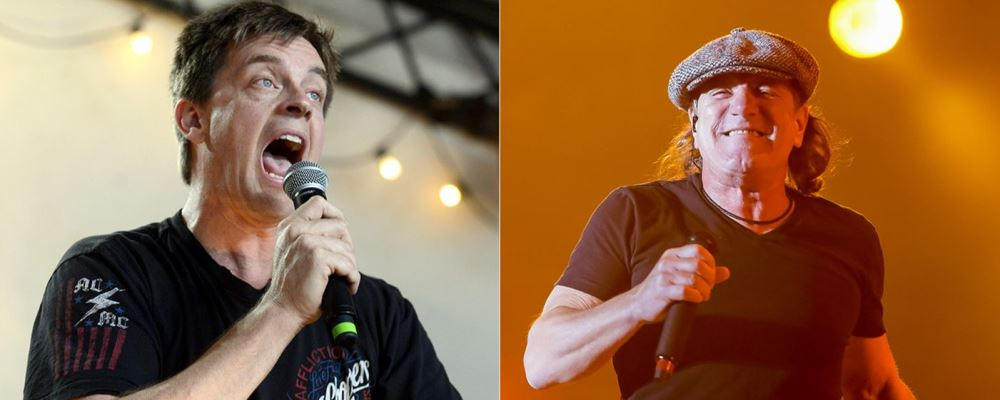 """Jim Breuer: """"Angus Young reemplazó a Brian Johnson como si ..."""