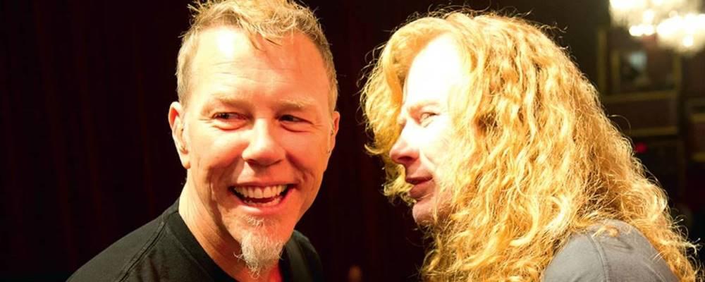 """James Hetfield y su relación con Dave Mustaine: """"¿Para qué ..."""