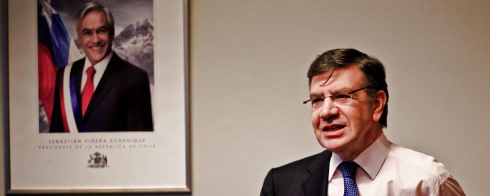Ministro de Educación Joaquín Lavín