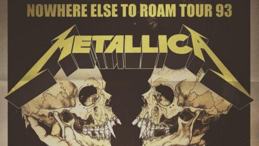 Metallica Chile 1993 Afiche Web