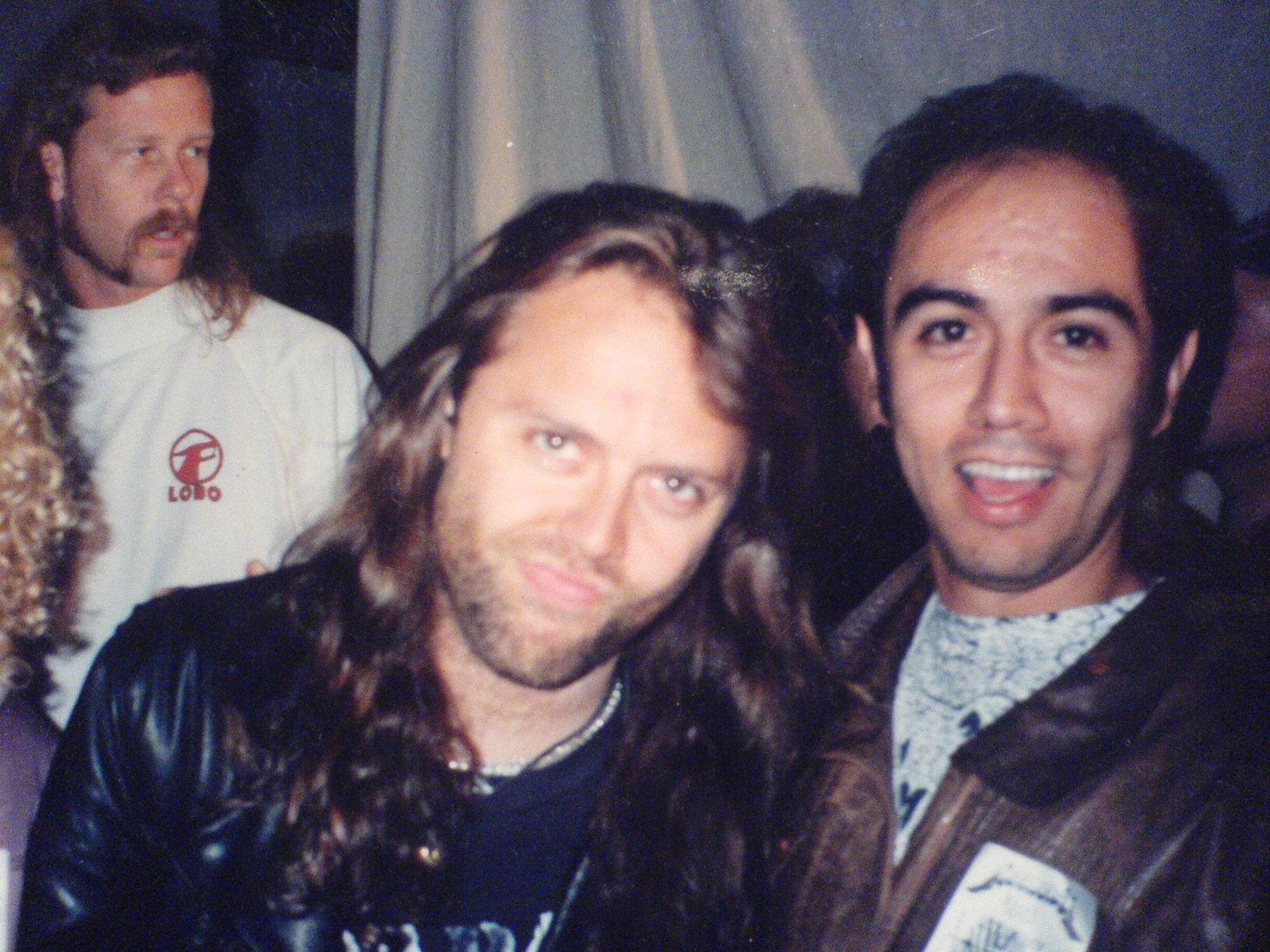 Metallica Con Ruben Cartagena