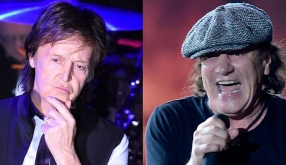 Paul McCartney Aconseja A Brian Johnson De AC DC Para Coachella Futurocl