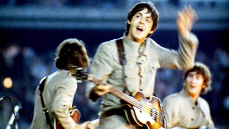 The Beatles 1965 Shea Stadium