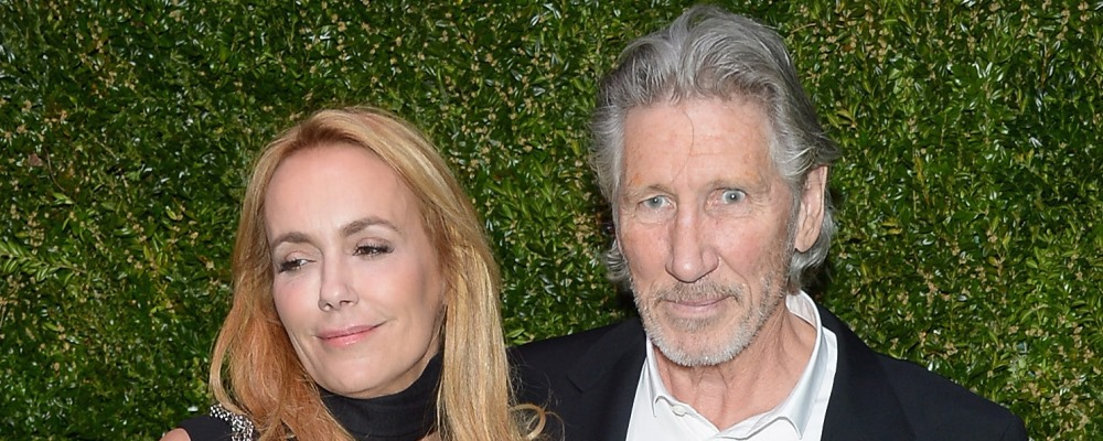 NEW YORK, NY - APRIL 22:  Actress Laurie Durning and musician Roger Waters attends the CHANEL Tribeca Film Festival Artists Dinner at Balthazar on April 22, 2014 in New York City.  (Photo by Michael Loccisano/Getty Images for CHANEL)