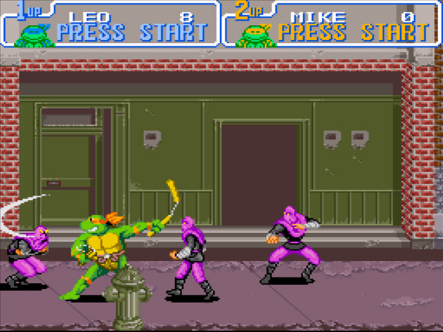 Recuerdo Gamer Tortugas Ninja Iv Turtles In Time Futuro