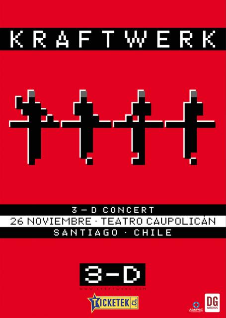 kraftwerk chile 2016 afiche