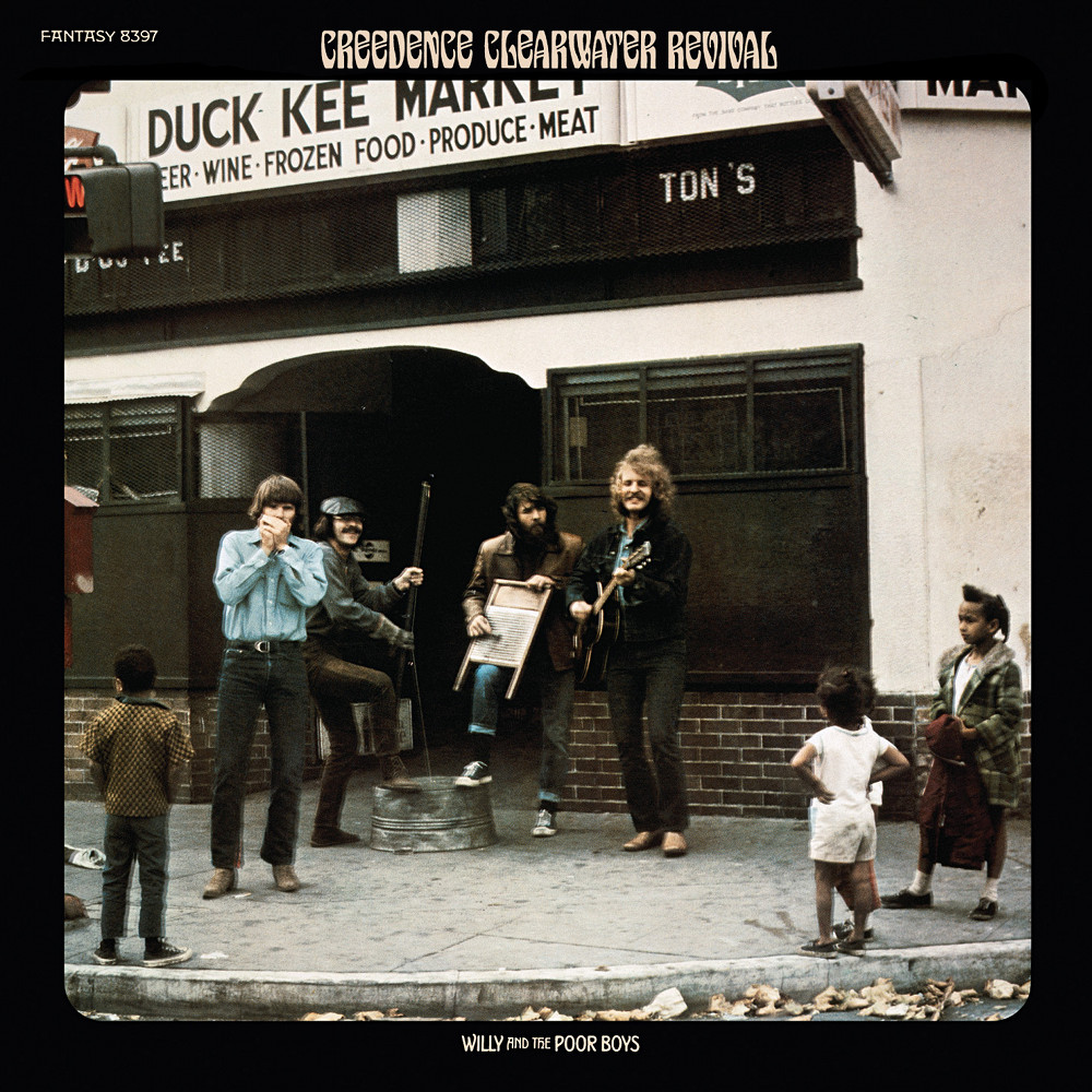 Creedence Clearwater Revival.  Creedence-clearwater-revival-willy-and-the-poor-boys