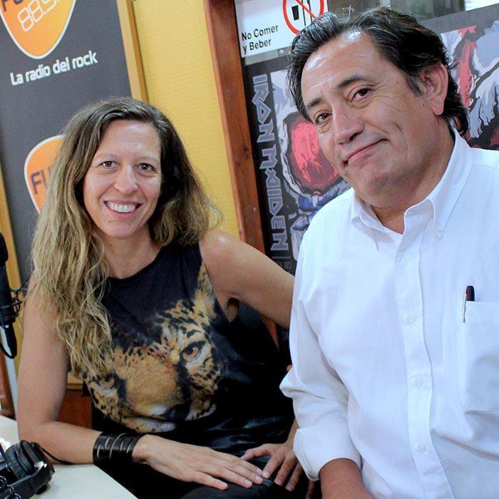 Palabra que es noticia – Antonio Quinteros y Andrea Moletto