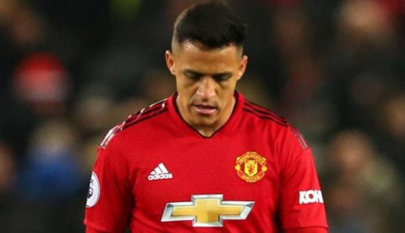 Alexis Sánchez se lesionó en el entrenamiento del Man. Utd