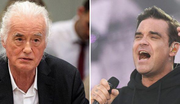 Robbie Williams gana disputa urbanística a Jimmy Page después de 5 años