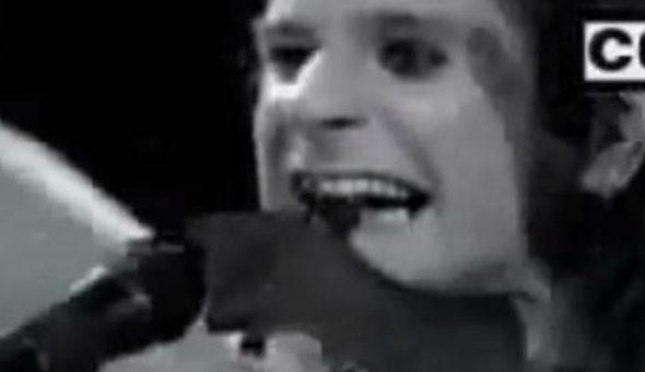 Ozzy Osbourne lanza a la venta peluche de murciélago decapitado
