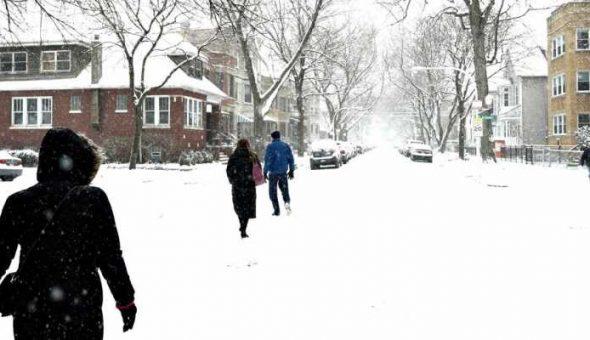 En 12 estados de EU, temperaturas más frías que en la Antártida