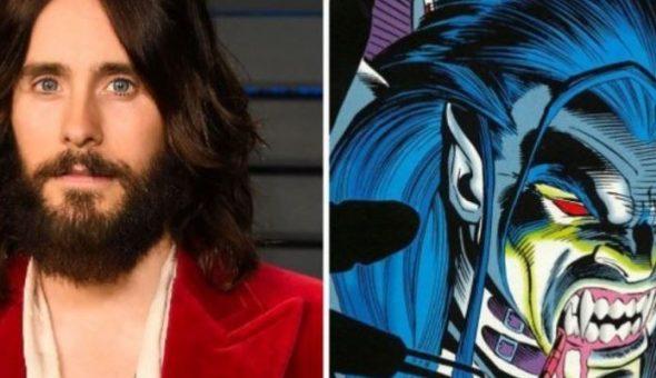Jared Leto comparte su primera imagen como Morbius