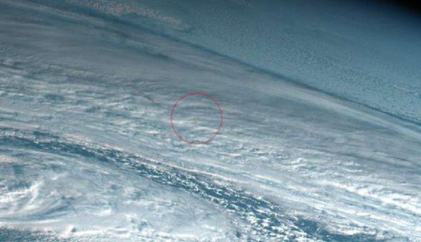 Meteorito explota en la atmósfera terrestre