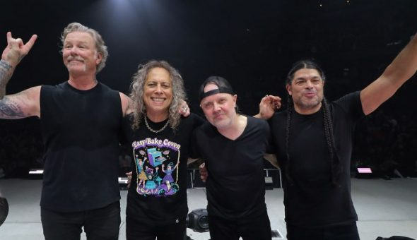 Mira el primer show Europeo de 2019 de Metallica