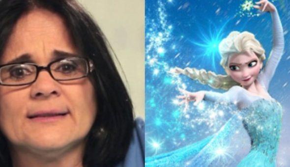Ministra brasileña vs Frozen Elsa