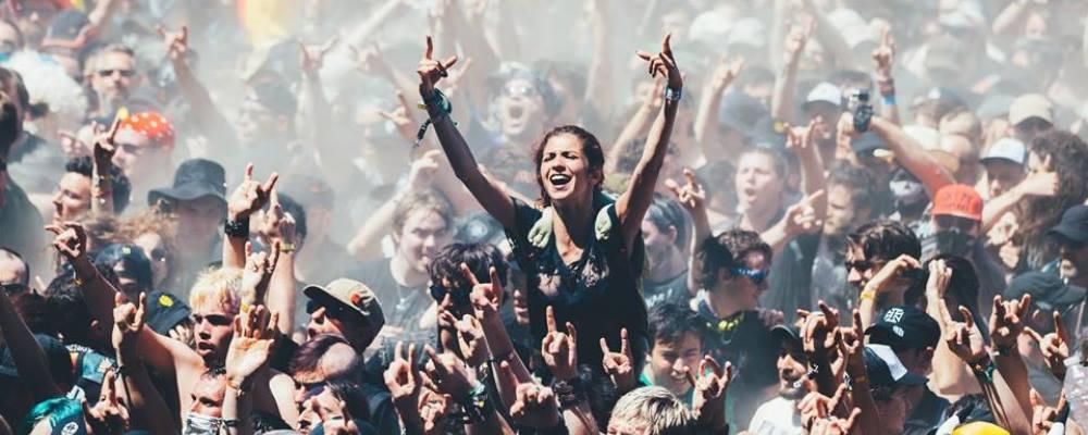 Público Heavy Metal festival