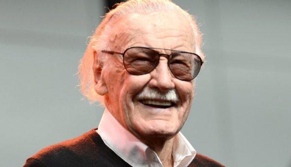 Stan Lee y su bella sonrisa