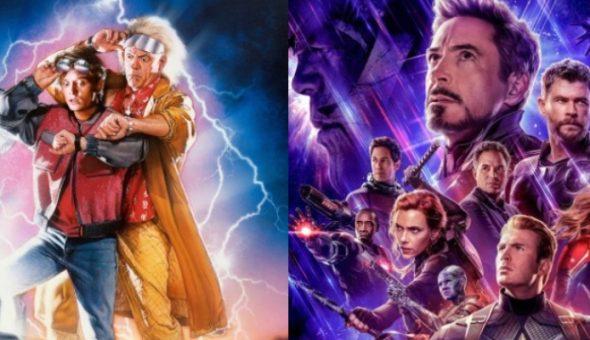 Volver al futuro vs avengers