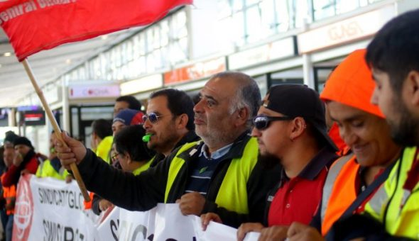 aeropuerto trabajadores