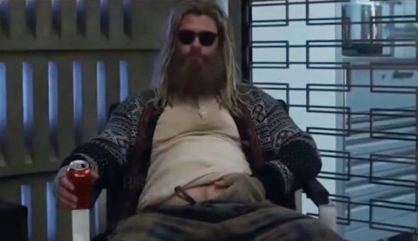 Avengers Endgame gordo Thor