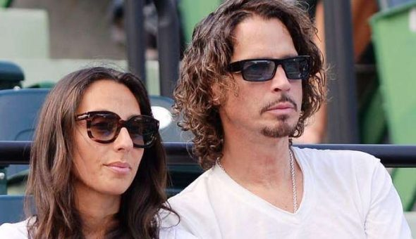 Chris cornell y viuda Vicky Card