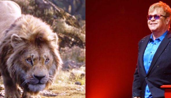 Elton John Lion king web