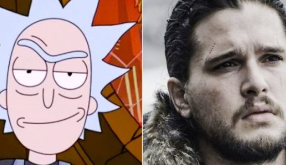 Game of thrones Rick and Morty