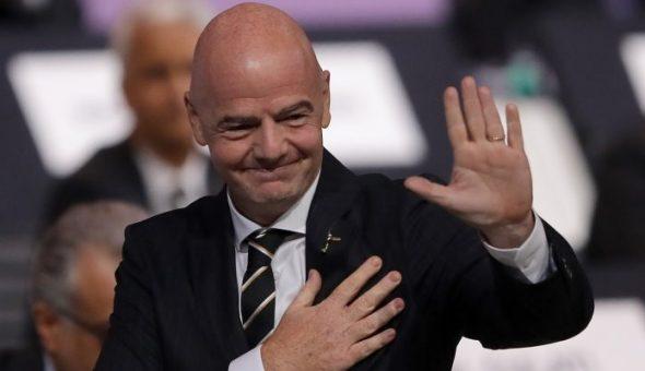 Gianinni Infantino FIFA