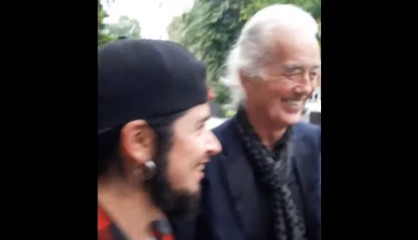 Jimmy Page chilenos