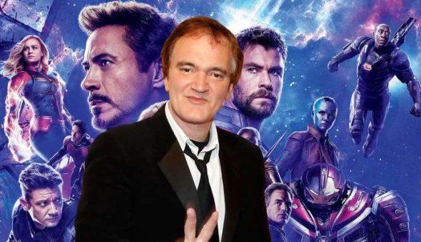 Quentin Tarantino sorprende con su película de Marvel favorita