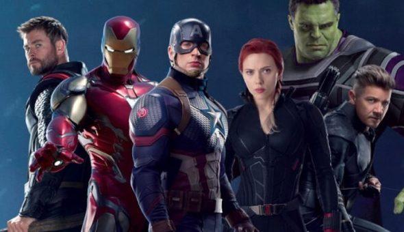 Avengers team web