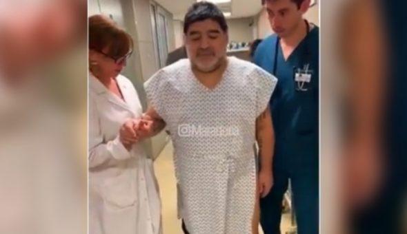 Maradona camina web