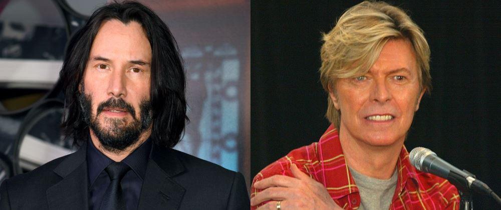 Keanu Reeves David Bowie