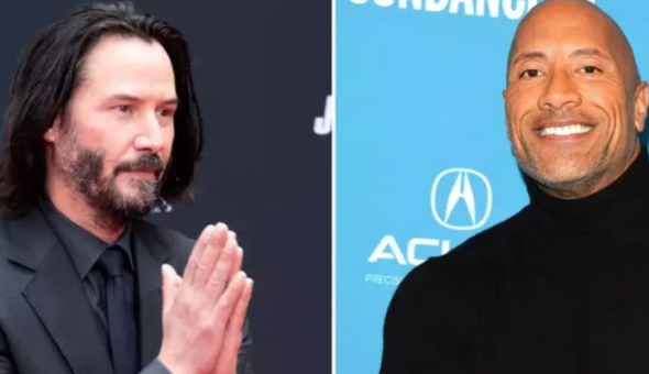 Keanu Reeves Hobbs and Shaw