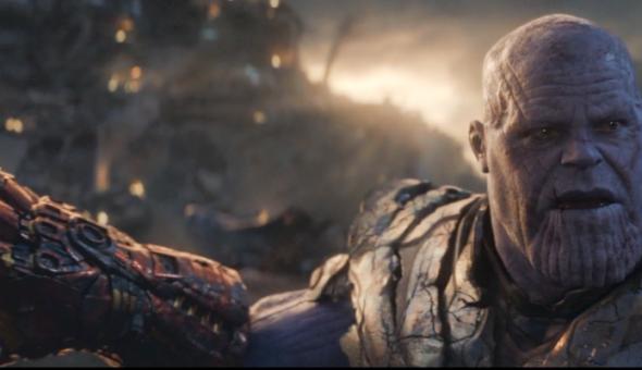 Thanos cara de taco web