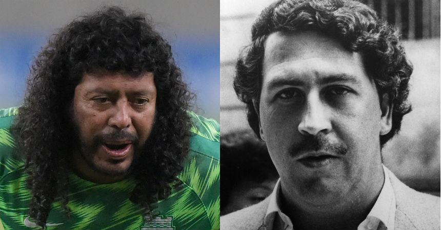 Higuita recordó su amistad con Pablo Escobar