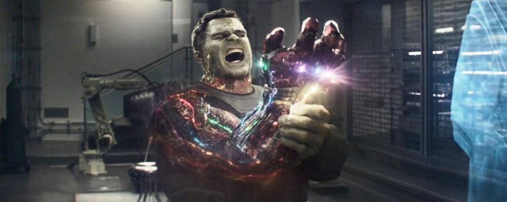 Avengers Spider-Man Hulk chasquido