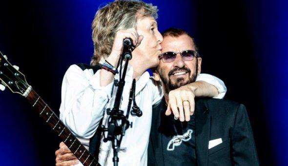 Paul McCartney RIngo Starr John Lennon