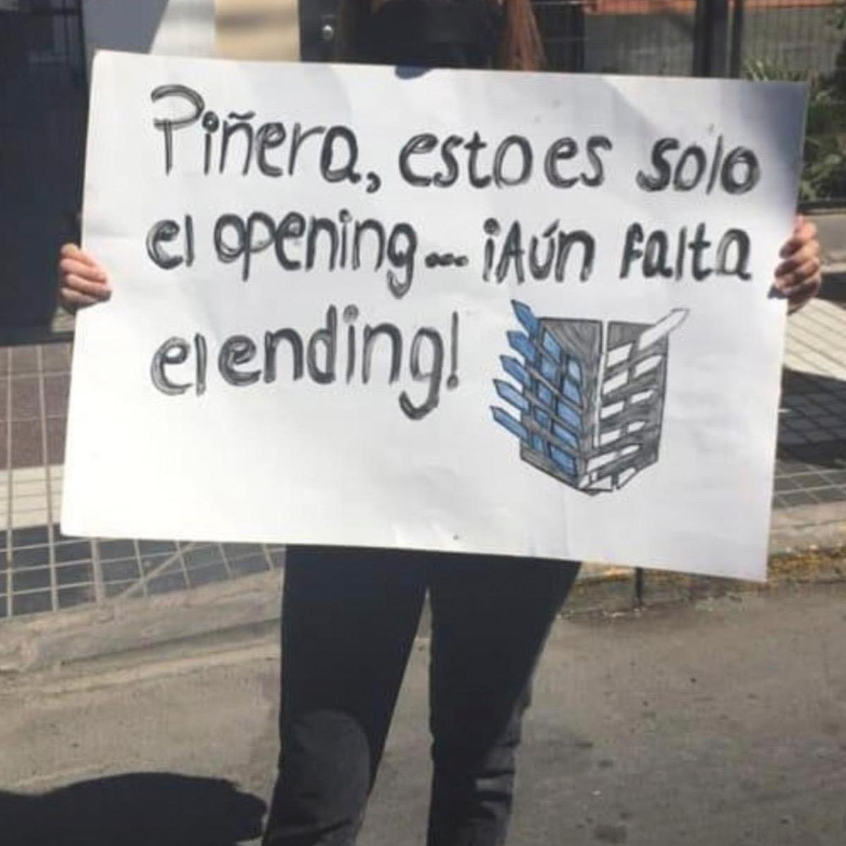 Los Mejores Carteles Que Han Dejado Las Manifestaciones Chilenas