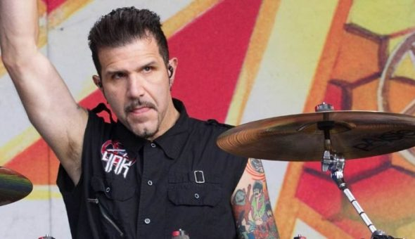 Charlie Benante Anthrax Chile