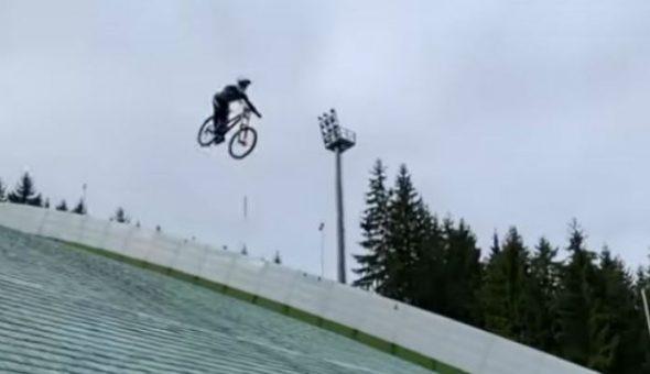 ciclista caída