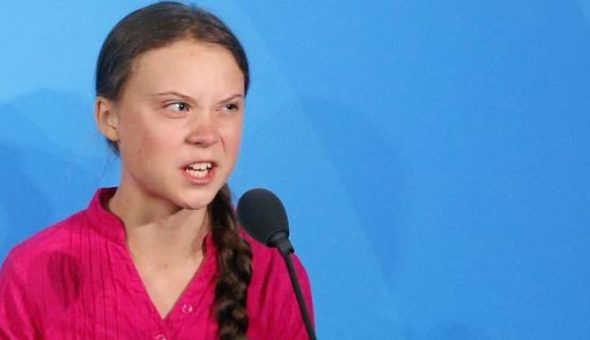 Greta Thunberg se toma con humor su discurso en versión death metal