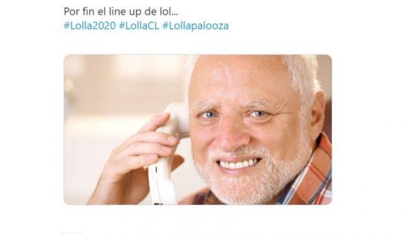 Lollapalooza Chile meme
