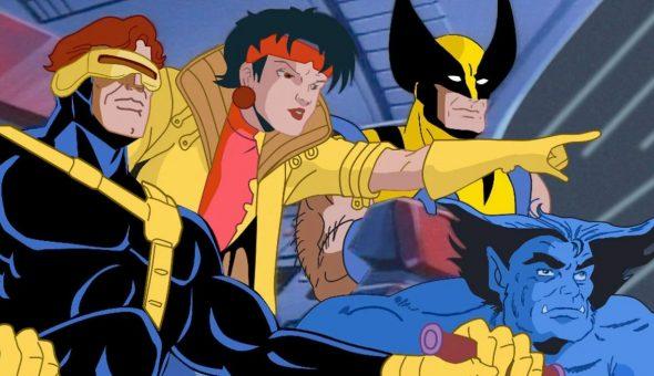 X-Men Marvel animada