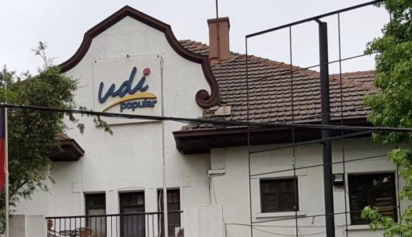 Sede de la UDI en Providencia fue atacada