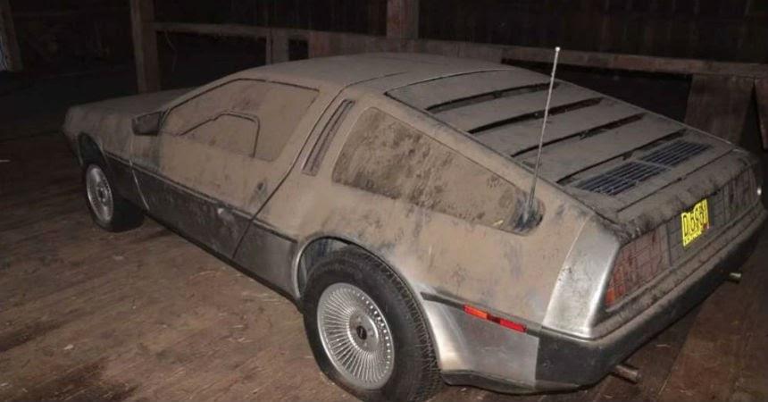 DeLorean granero