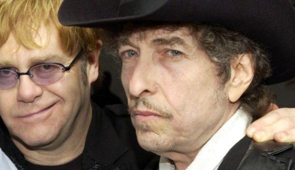 Elton John Bob Dylan nombre artístico