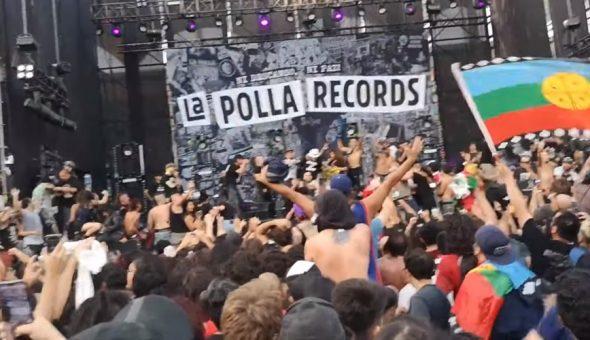 La Polla Records público