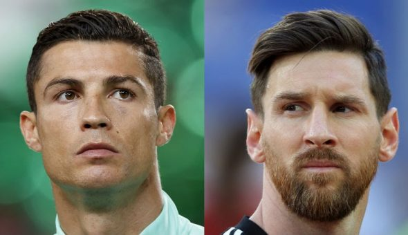Messi Ronaldo rico